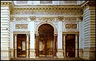 The loggia of the Casino dell'Aurora